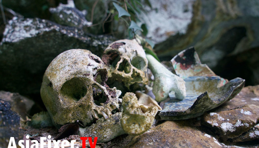 Asia Film Location Fixer, papua, human skulls, tribes
