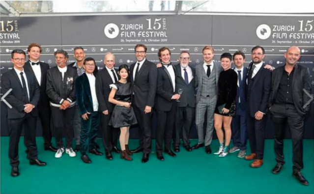 Green Carpet Zurich Film Festival 2019 - Paradise War