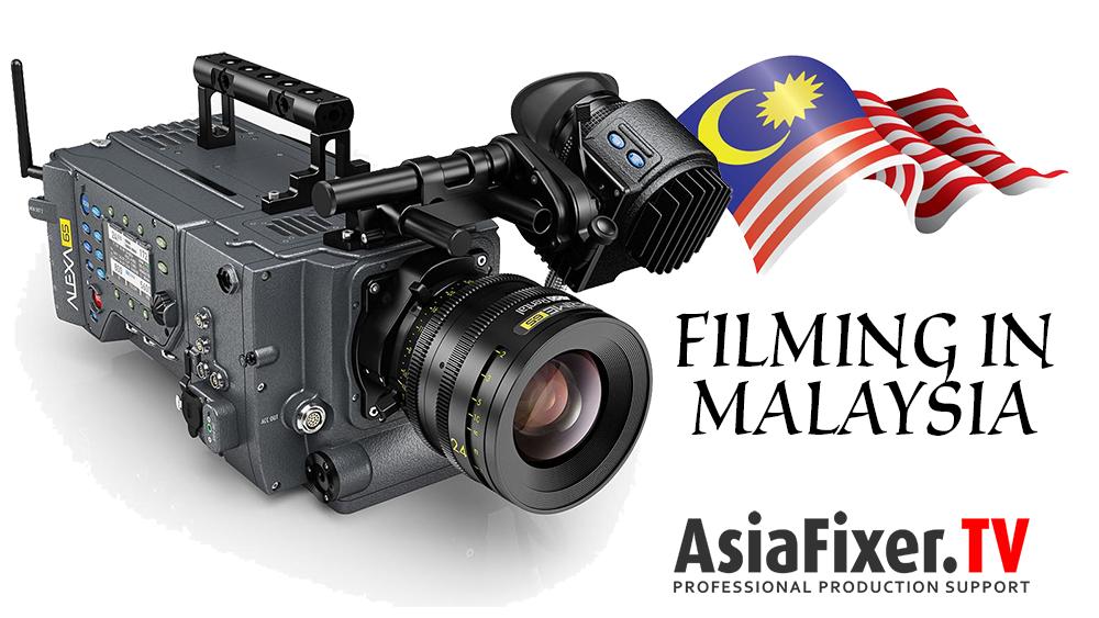 filming in malaysia